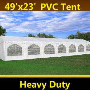 49 x 23 PVC Party Tent Canopy Gazebo