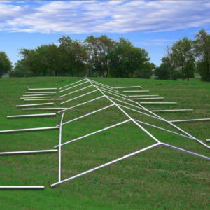 49 x 23 PVC Party Tent Canopy Gazebo Frame