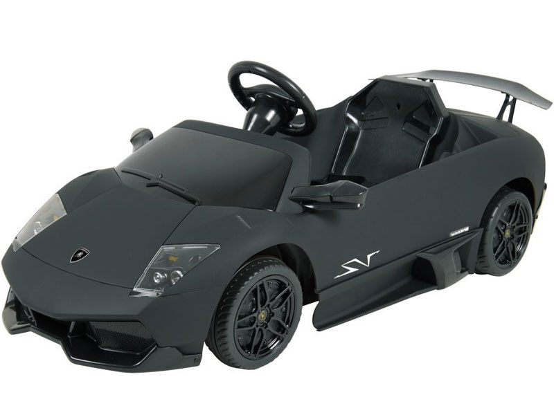 Kids Lamborghini Murcielago Power Wheel Black 12v Lp670