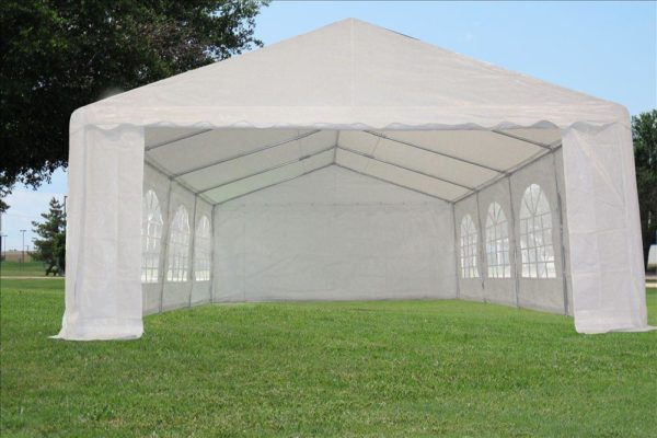 26 x 16 White Party Tent 3