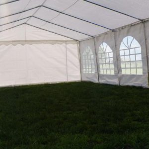 26 x 16 White Party Tent 4