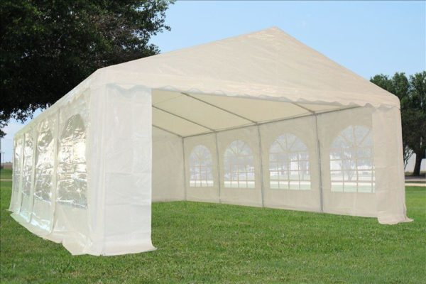 26 x 16 White Party Tent