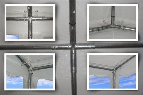 26 x 16 White Party Tent Frame