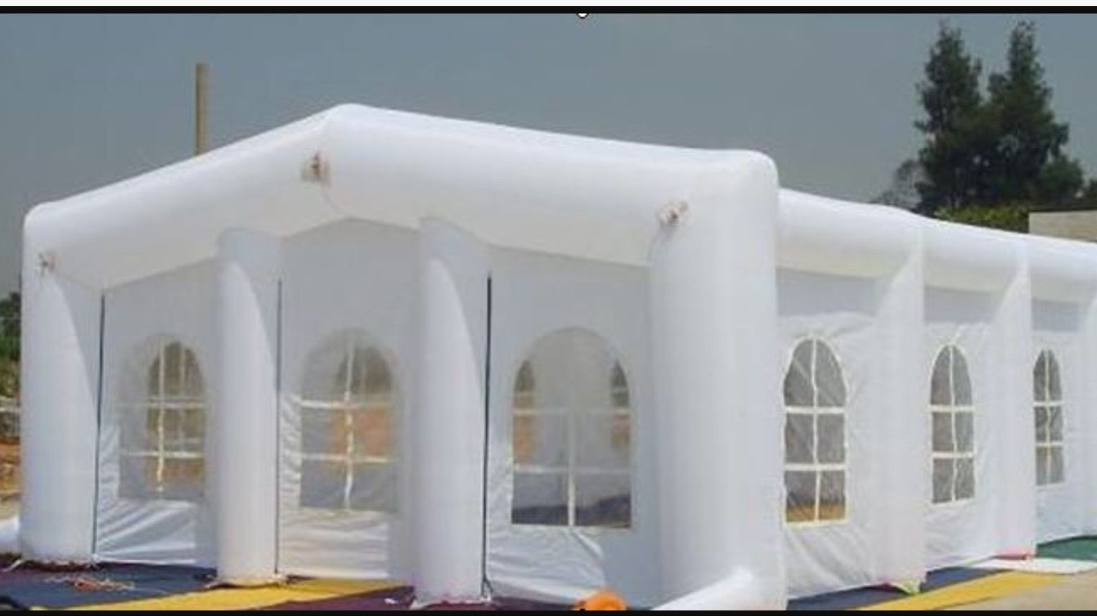 39 X 19 Inflatable Party Tent Canopy Gazebo