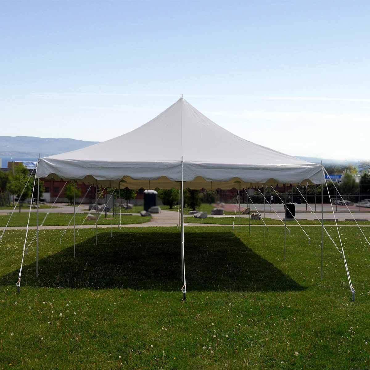 20 X 40 Commercial Pole Tent Canopy Gazebo