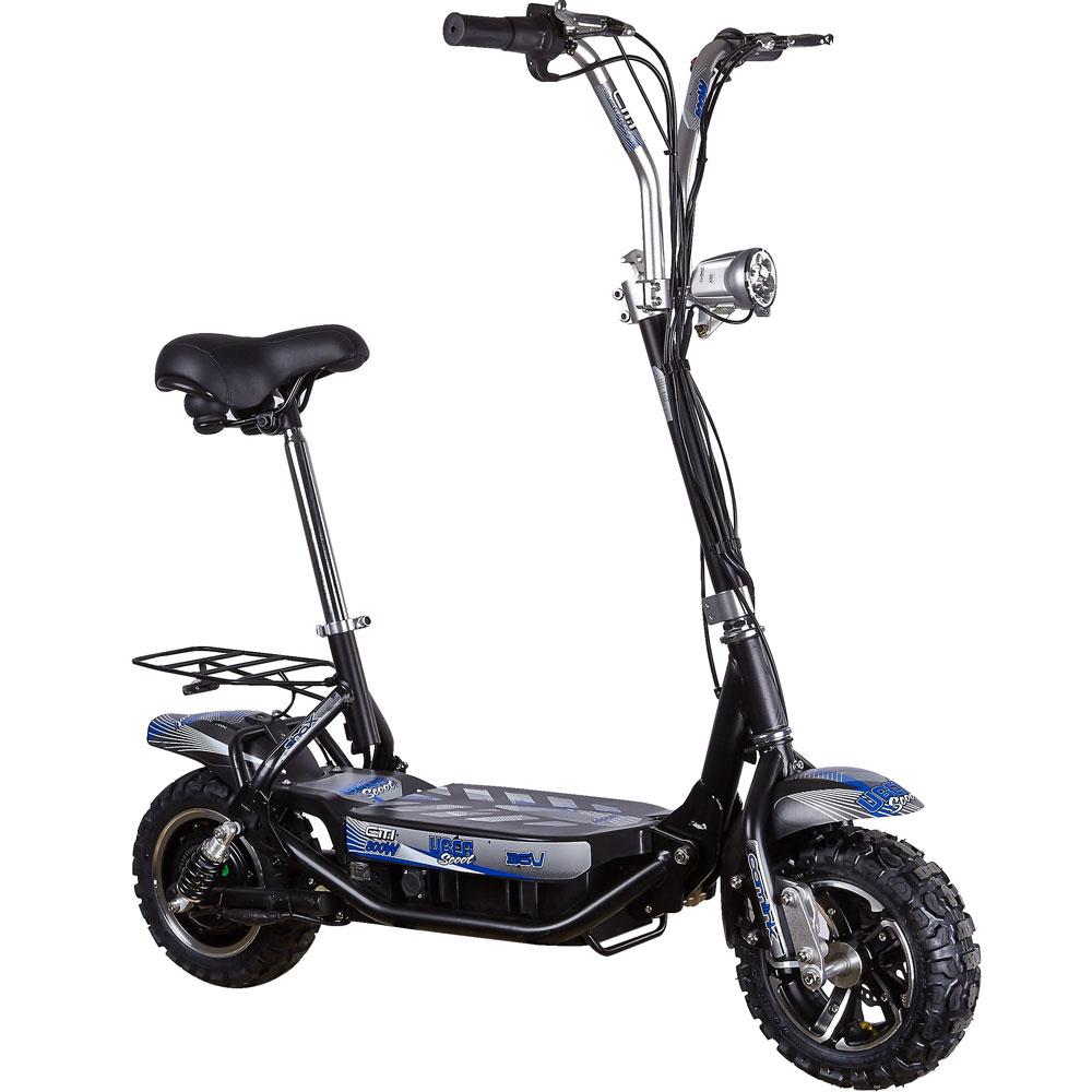 uberscoot 1000w electric scooter 36v vehicle. Black Bedroom Furniture Sets. Home Design Ideas