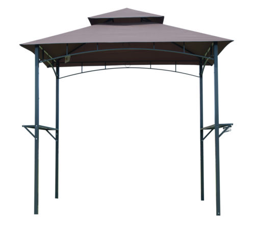 8Ft BBQ Canopy Tent Barbecue Grill Outdoor Gazebo