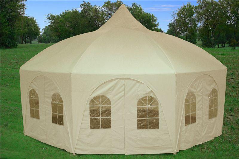 20 x 20 octagon tent canopy gazebo. Black Bedroom Furniture Sets. Home Design Ideas