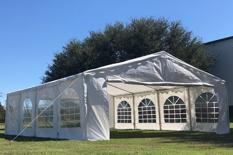26 X 16 Budget Tent Party Gazebo Waterproof Canopy