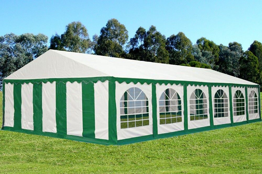 40 X 20 Striped Party Tent Canopy Gazebo 4 Colors Red