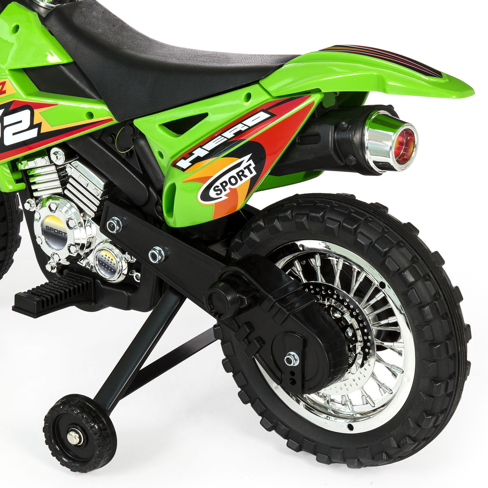 electric motorcycle 6v bike dirt battery powered wheels ride training choice light music toys cars zoom plastic mph abs speed