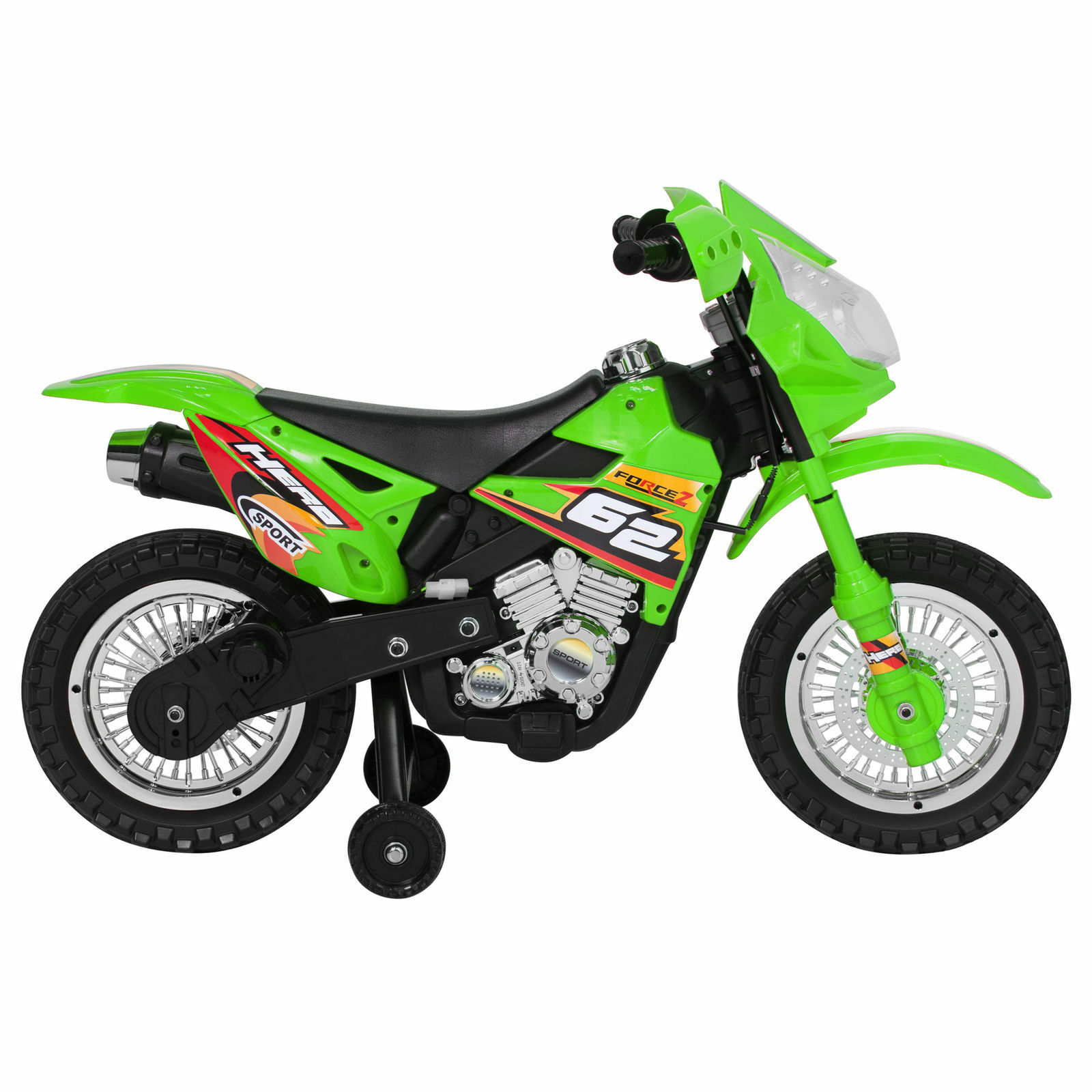 electric bike dirt motorcycle wheels training 6v ride choice toy speed battery powered bikes lights outdoor charger description